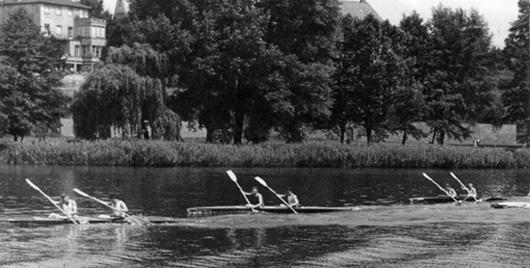 Aschaffenburger Kanuregatta 1955