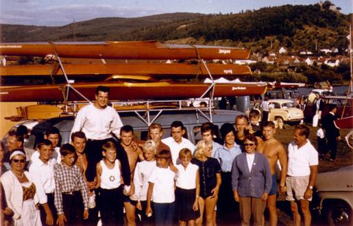 Rennmannschaft von 1964