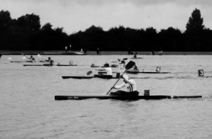 Zieleinlauf Deutsche Meisterschaft (1970)