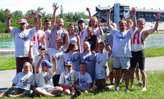 Mannschaft im Jahr 2000