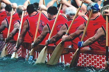 Drachenboot Mastersteam