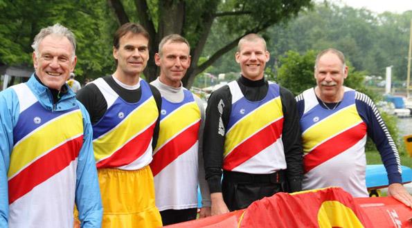 Mastersteam des SSKC 2012