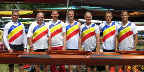 Mastersteam des SSKC 2014
