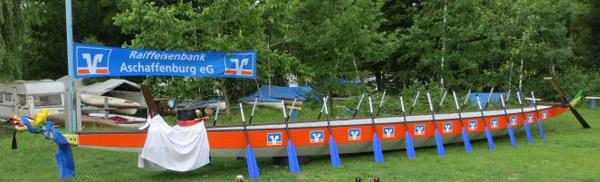 Taufe Raiffeisenbank Drachenboot
