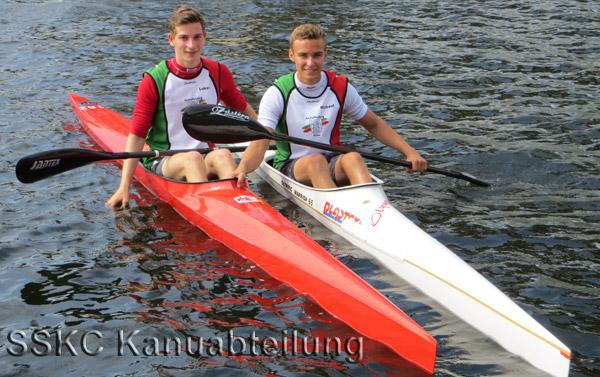 Lukas Möller und Michael Pabst